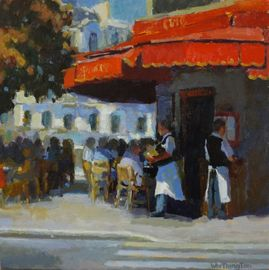 Red Awning - Rick Worthing
