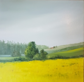 The Canola Field - SOLD